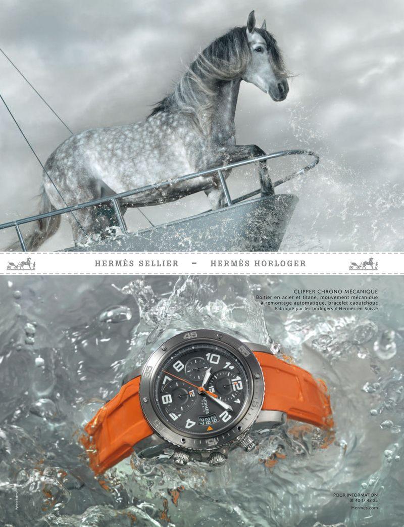 Les montres herm s s 39 offrent une nouvelle campagne de for Intemporel def
