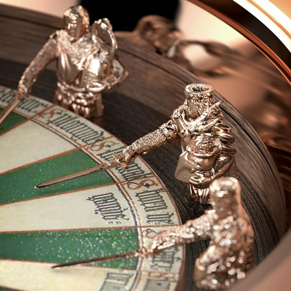Sihh 2013 roger dubuis roger dubuis excalibur table ronde - Nom des chevaliers de la table ronde ...