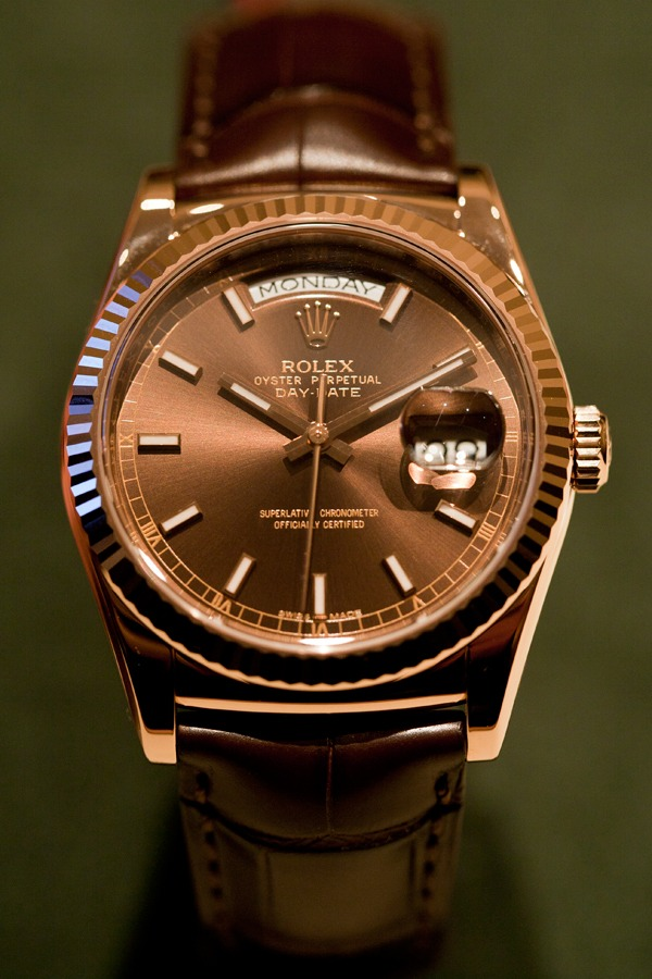 Rolex Day Date Bracelet Cuir